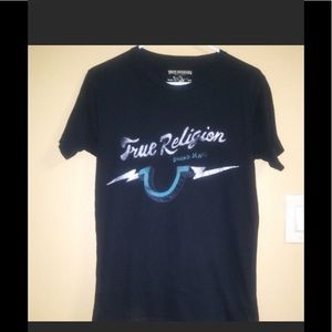 True Religion Black Tee Shirt